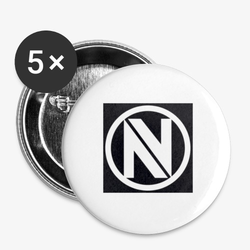 NV - Buttons small 1'' (5-pack)
