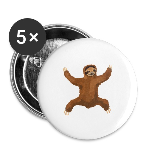Sloth Love Hug - Buttons small 1'' (5-pack)