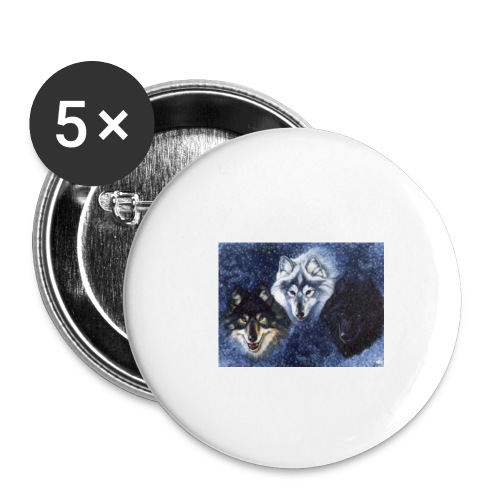 the wolf pack - Buttons small 1'' (5-pack)