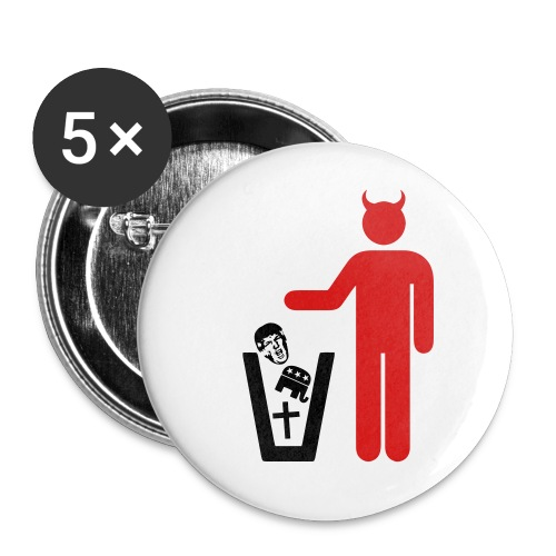 American Satanist - Buttons small 1'' (5-pack)