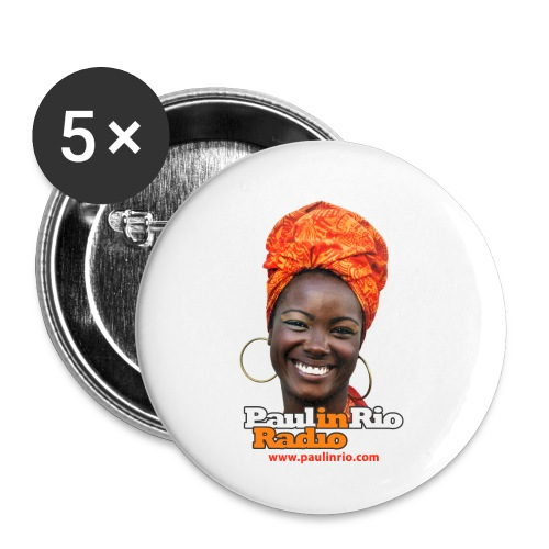 Paul in Rio Radio - Mágica garota - Buttons small 1'' (5-pack)