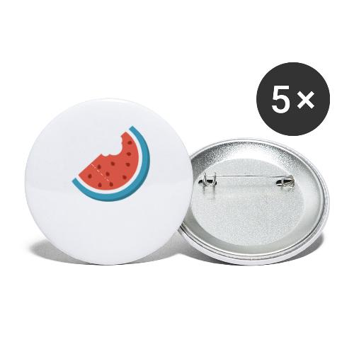 Summer Periscope Melon - Buttons small 1'' (5-pack)