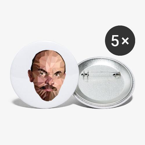 Vladimir Ulyanov - Buttons small 1'' (5-pack)