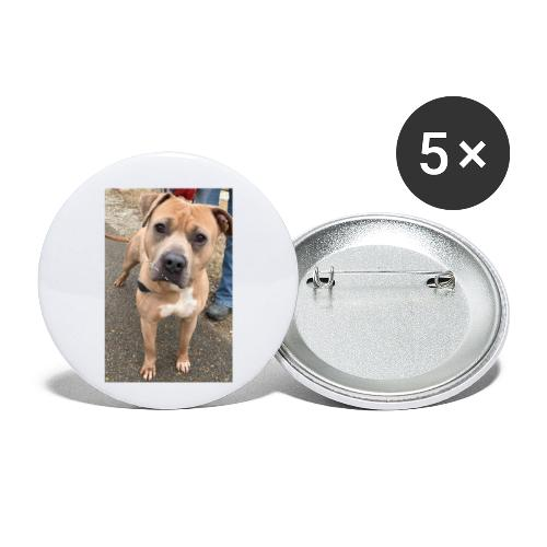 Brute Pup - Buttons small 1'' (5-pack)