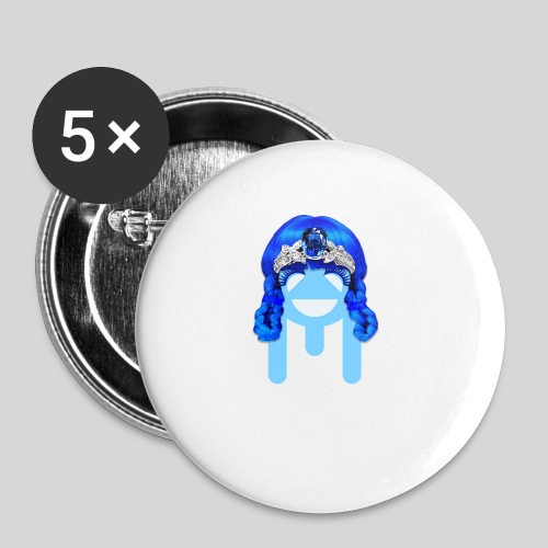 ALIENS WITH WIGS - #TeamMu - Small Buttons