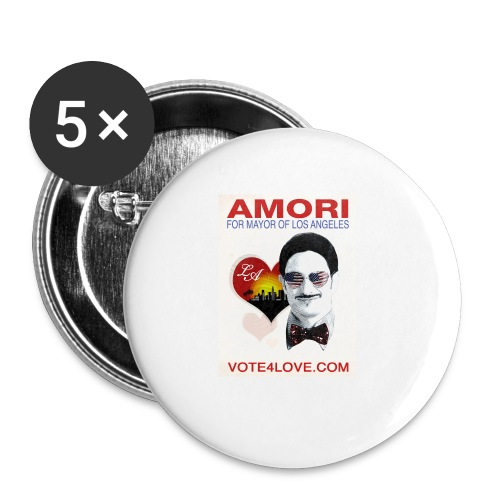 Amori for Mayor of Los Angeles eco friendly shirt - Small Buttons