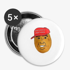 maga potato logo - Small Buttons