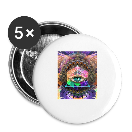ruth bear - Buttons small 1'' (5-pack)