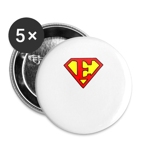 super E - Buttons small 1'' (5-pack)