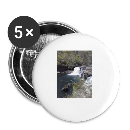 LRC waterfall - Buttons small 1'' (5-pack)