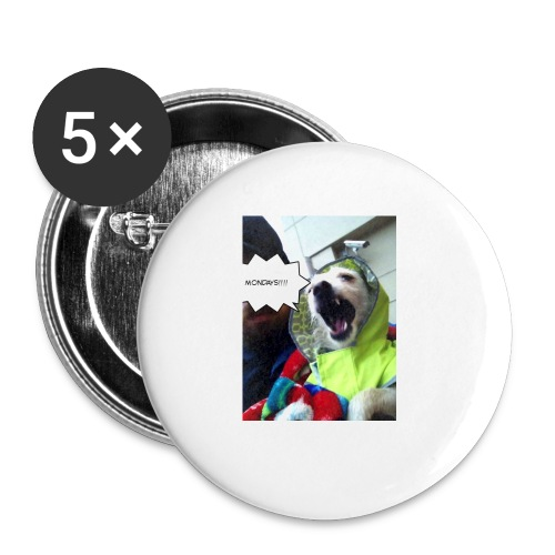 I hate Mondays - Buttons small 1'' (5-pack)