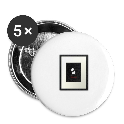 Dabbing pandas - Buttons small 1'' (5-pack)