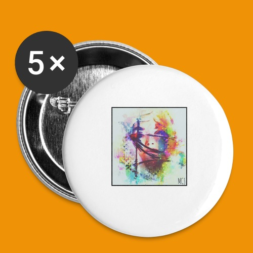Trapped - Buttons small 1'' (5-pack)
