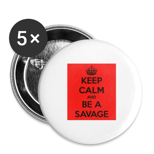 SAVAGE - Buttons small 1'' (5-pack)