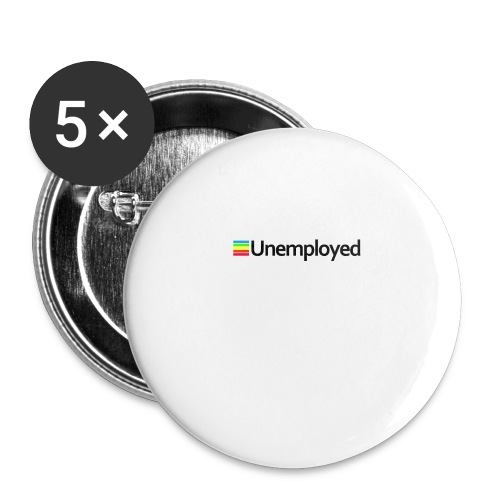 Polaroid - Unemployed - Buttons small 1'' (5-pack)