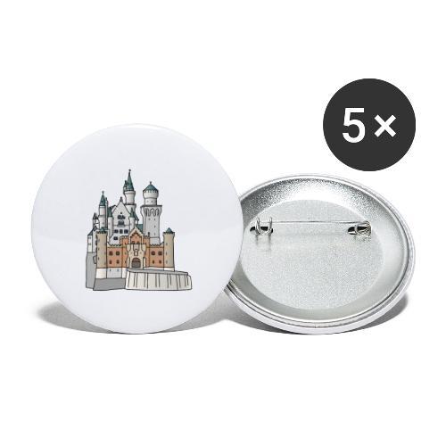 Neuschwanstein Castle, Bavaria - Buttons small 1'' (5-pack)