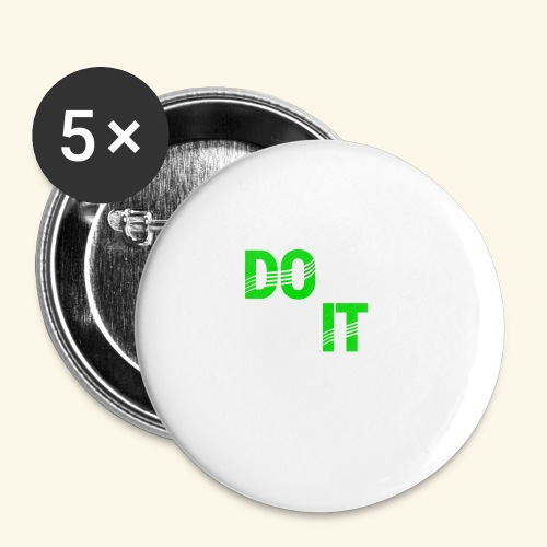 DON'T QUIT #4 - Buttons small 1'' (5-pack)