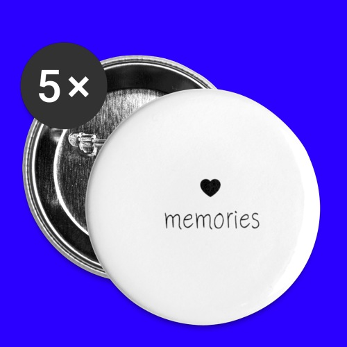 memories - Small Buttons