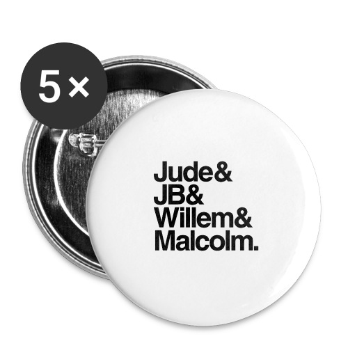 A Little Life Book - Buttons small 1'' (5-pack)