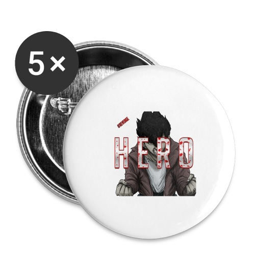 Out For Blood - Buttons small 1'' (5-pack)