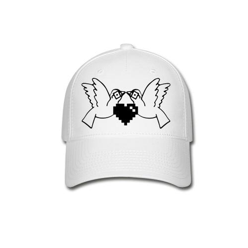 Love Nerds Gaming Blk/Wht - Baseball Cap