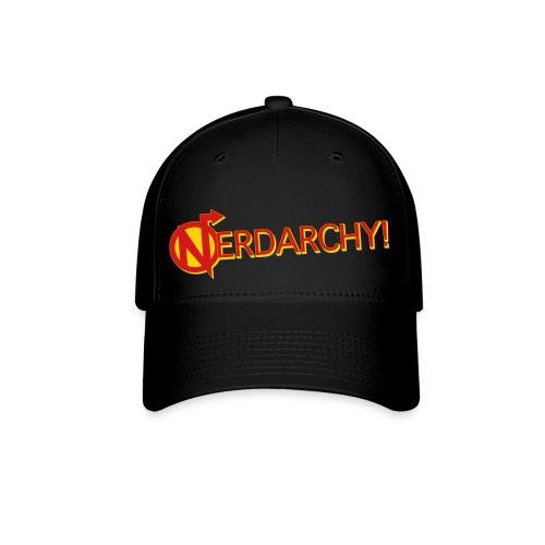 NerdarchyLogoShirtF - Baseball Cap