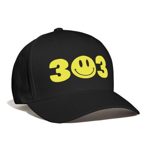 3 Smiley 3 - Baseball Cap