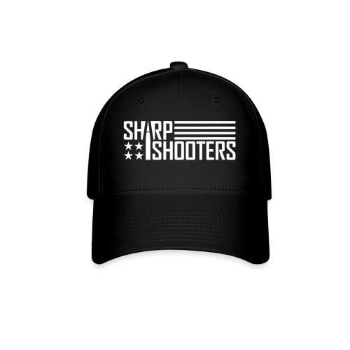 sharp shooterswhite - Baseball Cap