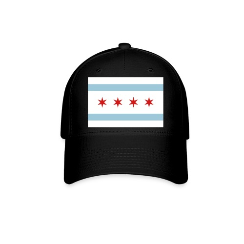 Chicago Flag 3 color - Baseball Cap