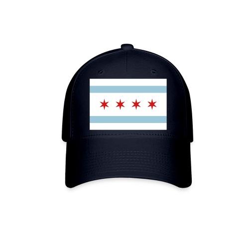 Chicago Flag 3 color - Baseball Cap