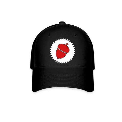 Woodworking Nut Logo - Baseball Cap