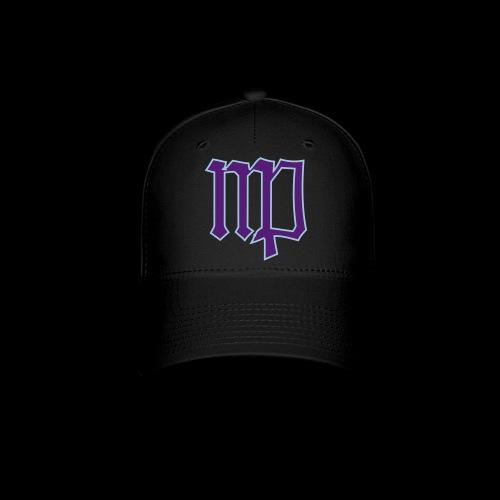 Virgo Sign In Blue & Purple - Baseball Cap