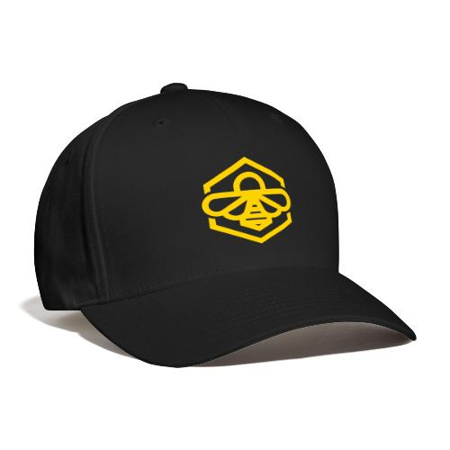 bee symbol orange - Baseball Cap
