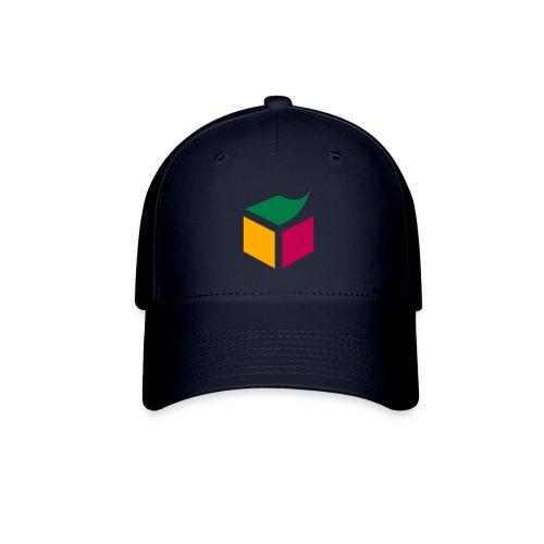 Semantic Web Cube orange light green purple - Baseball Cap