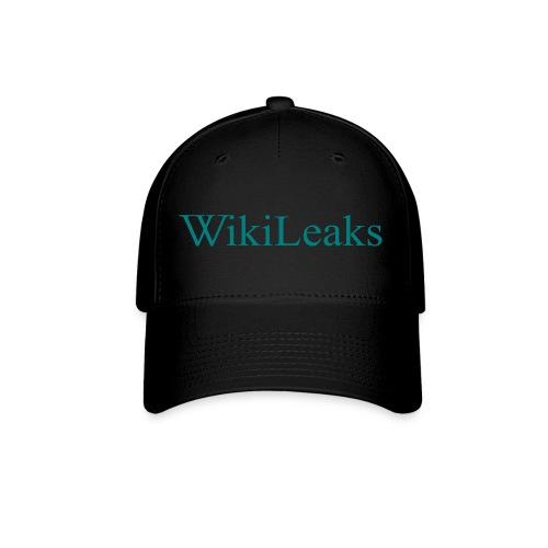 WikiLeaks Text small - Baseball Cap