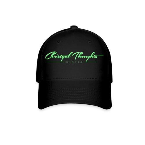Christyal Thoughts C3N3T31 Lime png - Baseball Cap