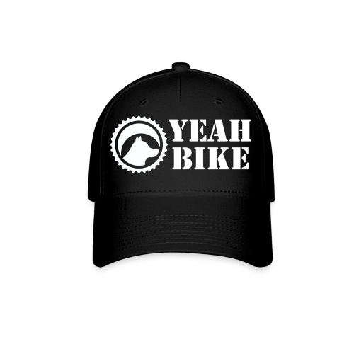Yeah Bike white - Baseball Cap