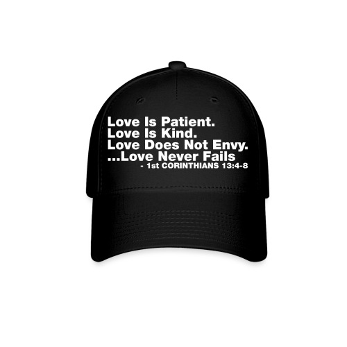 Love Bible Verse - Baseball Cap