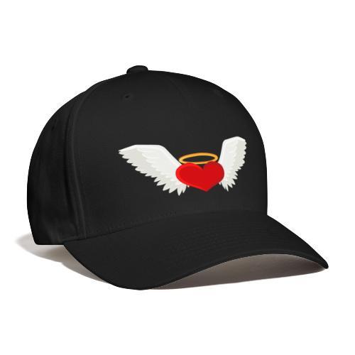 Winged heart - Angel wings - Guardian Angel - Baseball Cap