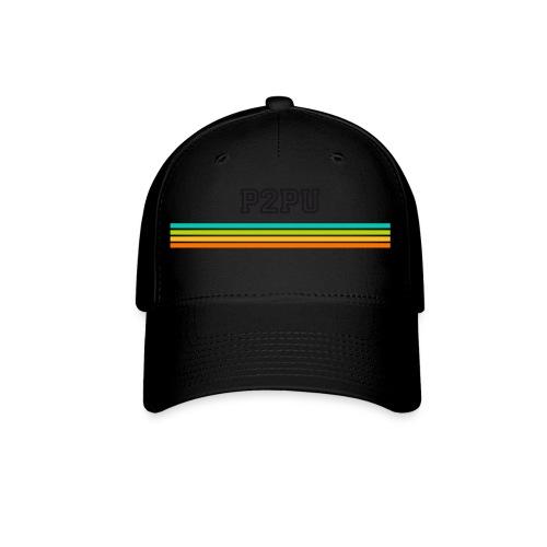 striped mug black logo png - Baseball Cap
