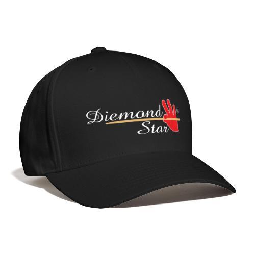 Diemond Star Logo White Font - Baseball Cap