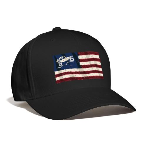 American Off Road 4x4 Overland Flag - Baseball Cap