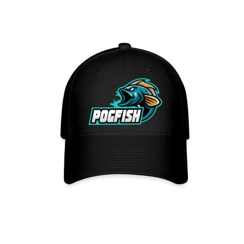 PogFish Text Logo - Baseball Cap
