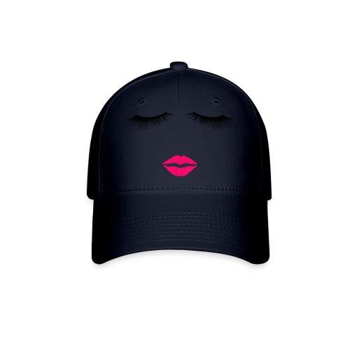 Lipstick and Eyelashes - Baseball Cap