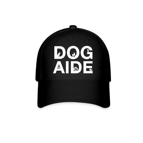dog aide NEW white - Baseball Cap