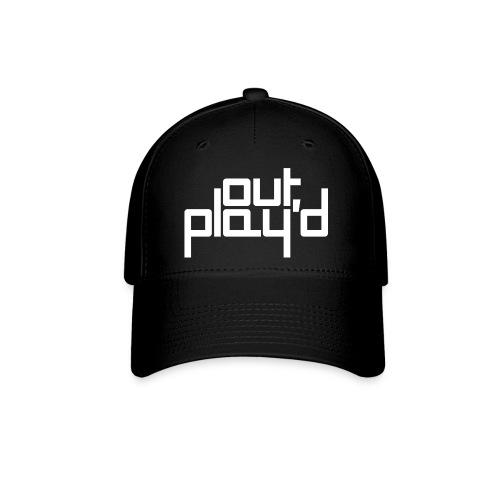 outplayd black & white cap - Baseball Cap