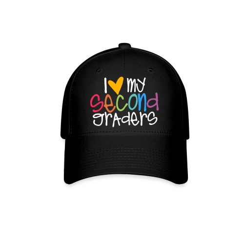 I Love My Second Graders Teacher Shirt - Baseball Cap