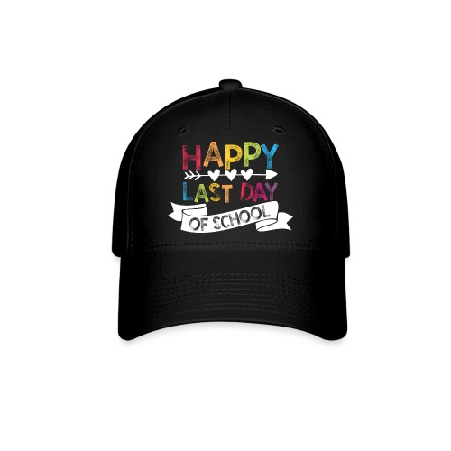 Happy Last Day of School Stamps Teacher T-Shirts - Baseball Cap