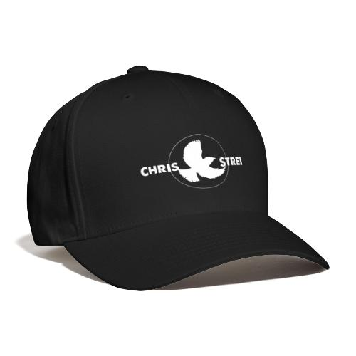 Chris Strei BlackBird Logo (white) - Baseball Cap
