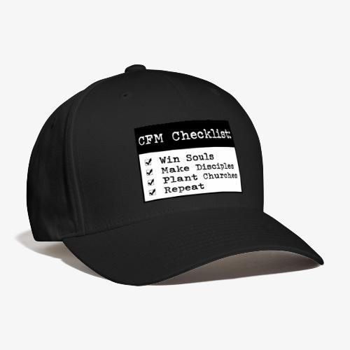 CFM Checklist - Baseball Cap